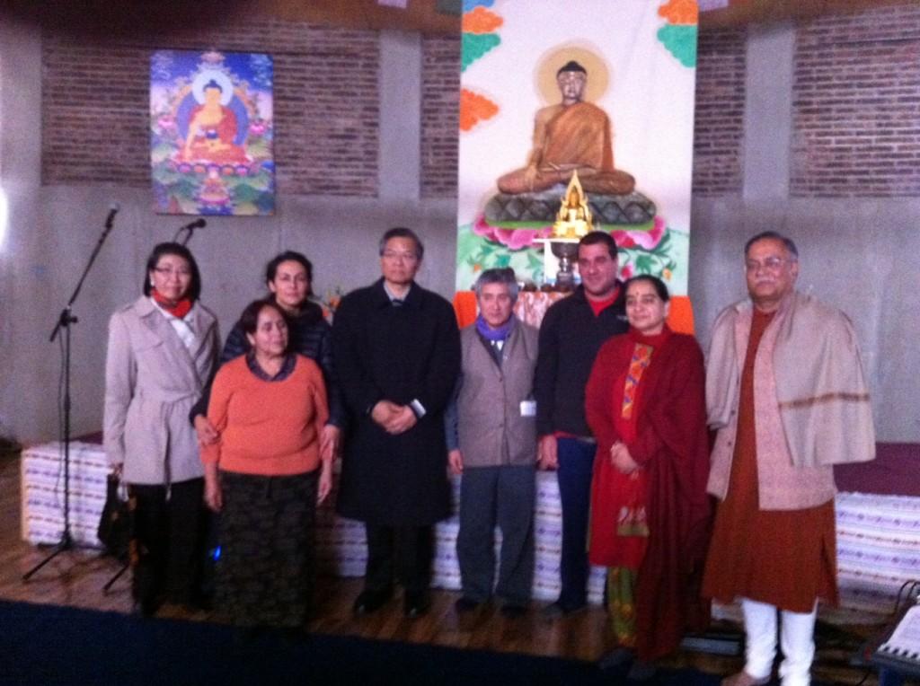 Exitosa Celebración Día Internacional de Buda / Domingo 26 de Mayo 2013 / 10.00 a 13.00 hrs.